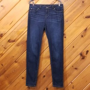 Jennifer Lopez Skinny Jeans Dark Wash Womens 12